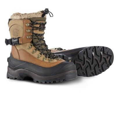 An insulated, waterproof, heavy snow, winter boot for men, the Sorel Men's Conquest Boots is nothing short of amazing. This is your get out there and stay out there, extreme cold weather boot with enough flexibility to be comfortable for walking and durable enough for snowshoeing.