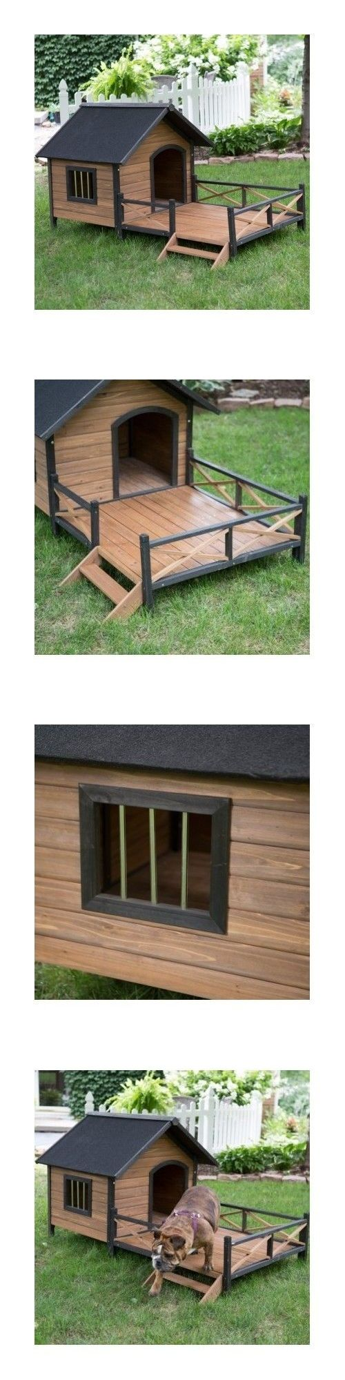 Rubber mats dog run - Dog Houses 108884 Dog Houses For Large Dogs Xl Wood Outdoor Kennel Pet Deck Raised