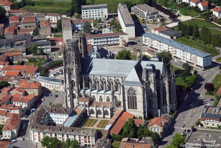 ✈️ Photo aérienne de : Toul - Meurthe-et-Moselle (54)