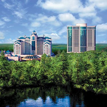 Foxwoods Resort Casino.  Had a great time with my husband here.