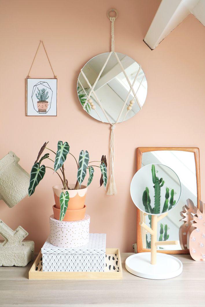 MY ATTIC for Fashionista Magazine / Diy Macrame Mirror Photography: Marij Hessel www.entermyattic.com
