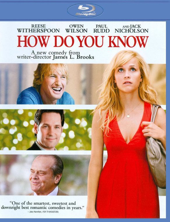 How Do You Know Blu Ray 2010 Best Buy Wilson Movie Best Romantic Comedies Blu Ray