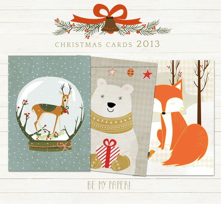 Be My Paper! Christmas Crads 2013
