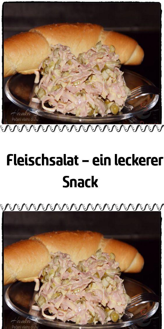 Fleischsalat – ein leckerer Snack – Rezepte