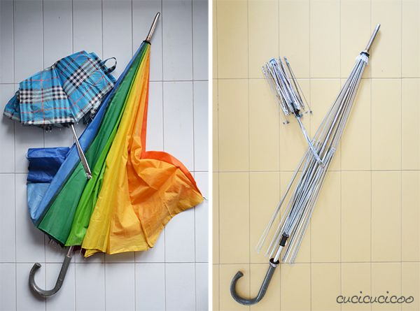 TUTORIAL: HOW TO REMOVE FABRIC FROM UMBRELLAS - Cucicucicoo