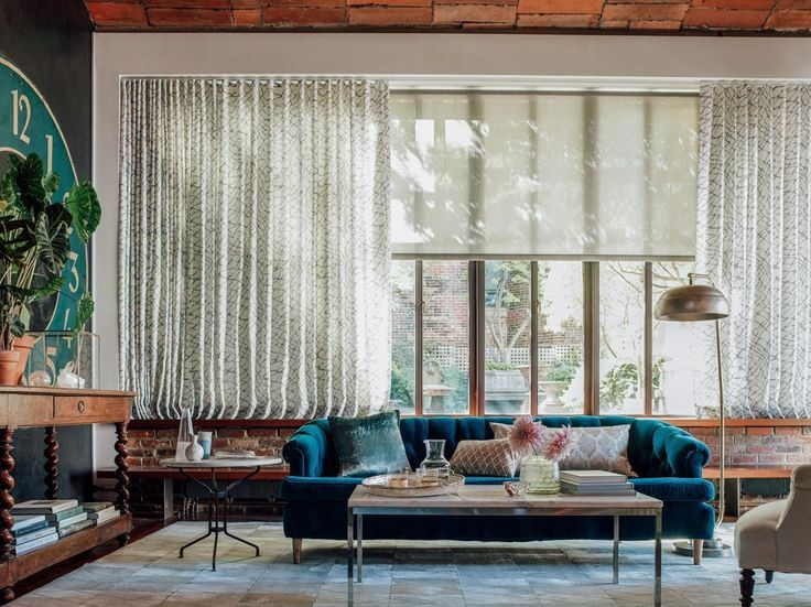The Novogratz family, together with The Shade Store, gives advice on adding new, stylish window treatments to your home in the bedroom or living room.
