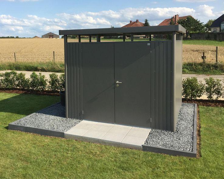 Biohort HighLine® - Metallgerätehaus, Gartenhütte, Geräteschuppen & Gartenschuppen aus Metall