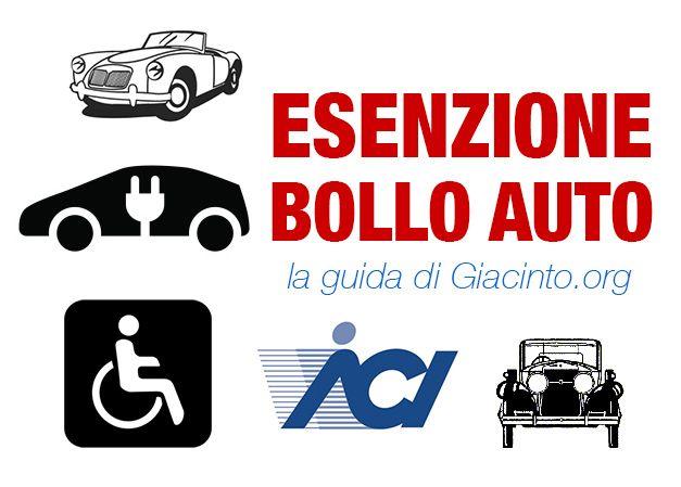 Esenzione bollo auto: come ottenerla, requisiti. Info su auto elettriche, gpl, metano. Esenzione tassa di possesso per disabili, auto ibride e auto d'epoca.
