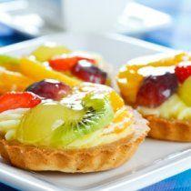 Receta de Tartaletas de Frutas
