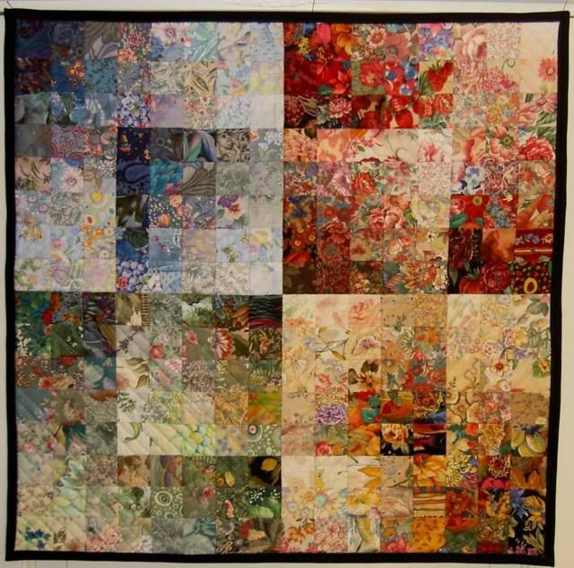 Colourwash quilt