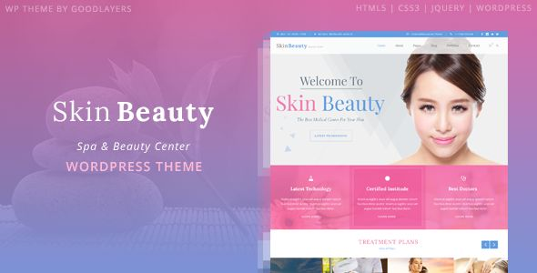 wpthemeclub: Skin Beauty - Beauty | Spa | Salon WordPress Theme...