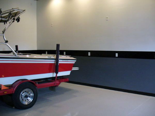 50 Garage Paint Ideas For Men   Masculine Wall Colors And Themes