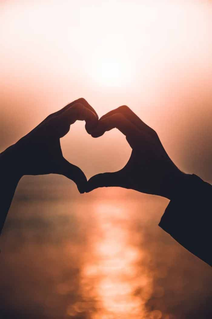 How Shaytaan Attacks Relationships About Islam Heart Shaped Hands Hand Pictures Couple Hands Hand shaped love wallpaper in sunset