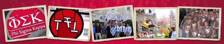 We are Phi Sigma Kappa Kappa Chapter