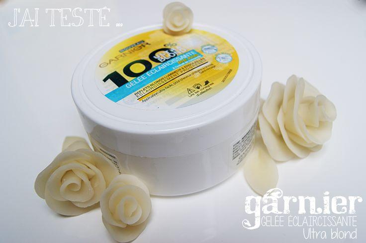 Beauté - La gelée éclaircissante ultra blond de chez Garnier