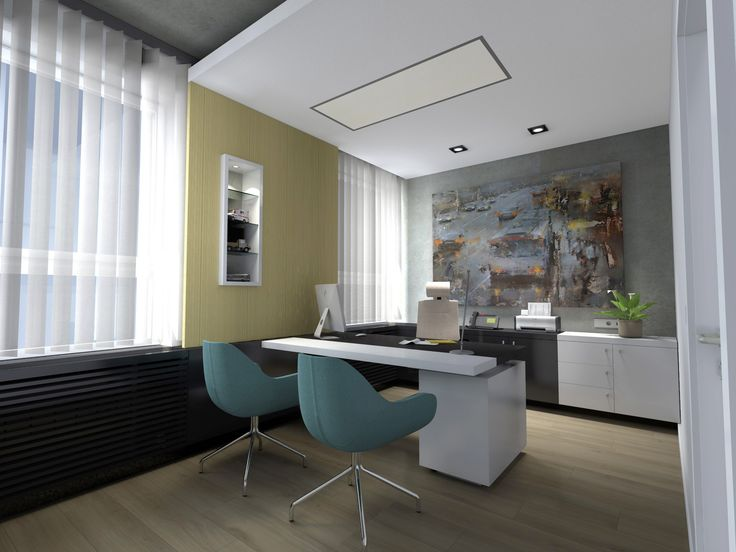 """Check out my @Behance project: """"EXECUTIVE OFFICE / interior design 2015""""…"""