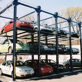 The Hardingsteel provides cost effective way to increase the capacity of a single standard parking space. Trilifts, Hydraulic parking, automotive garage lift. Car Stacker, Auto Rack Storage, Car Stacking Product, System, Car Stacker, Racks.