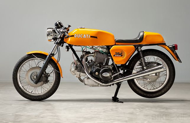 1973 Ducati 750 Sport Café Racer. Restored by Back To Basics, Bergambacht, The Netherlands.