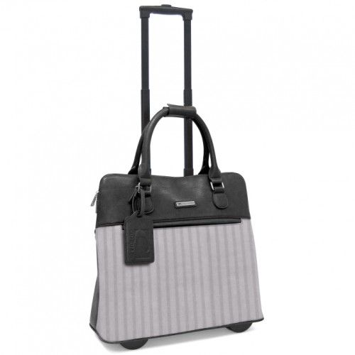 """Cabrelli 15.4"""" Rolling Laptop Bag - Lucy Laser"""