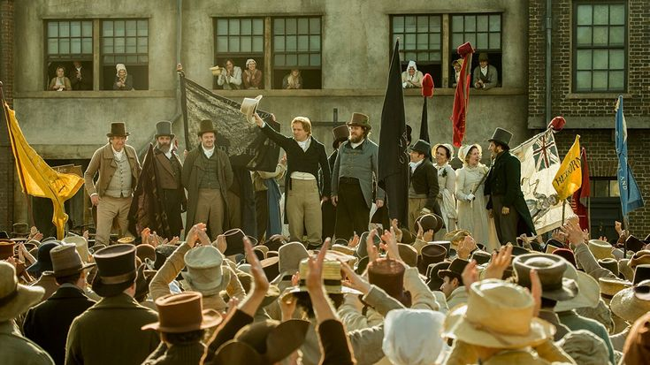 The story of the 1819 Peterloo Massacre where British forces attacked a peaceful pro-democracy rally in Manchester.
