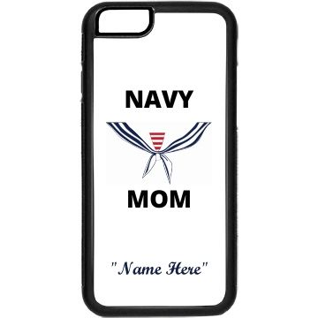 Personalize navy mom | Custom phone case for you navy moms and it can be personalized.
