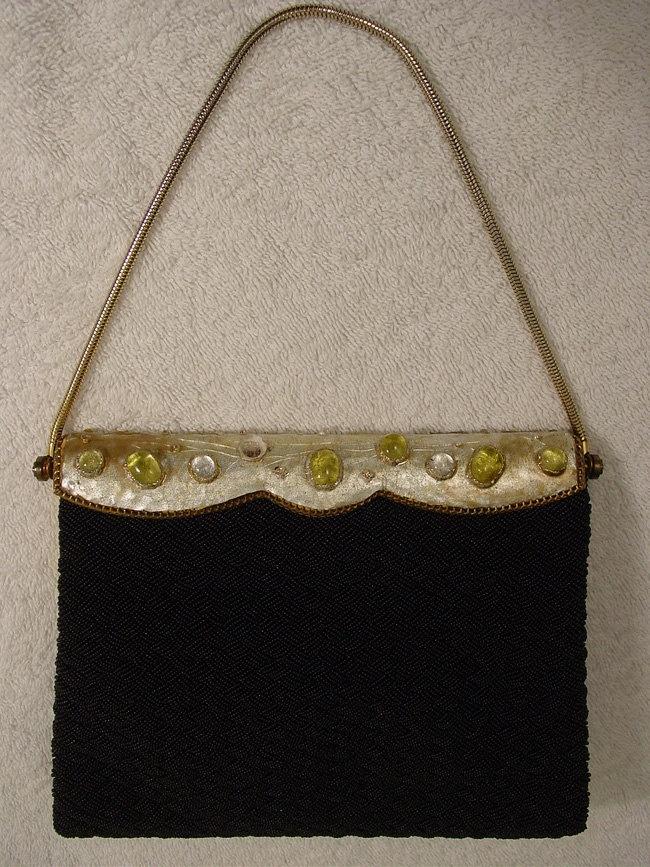 Vintage Couture - Morabito Paris - Purse Handbag Evening Bag  http://www.etsy.com/shop/Jewelsofnile?ref=seller_info
