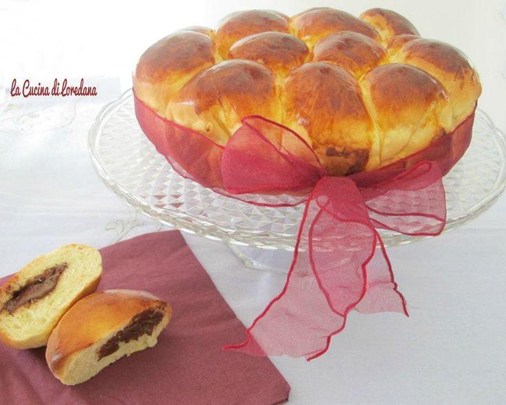 Danubio dolce alla nutella – Dolci da colazione | La cucina di Loredana