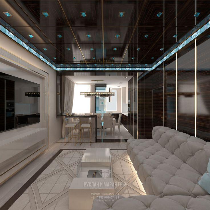 Дизайн квартиры в стиле арт-деко. 29 фото новинок 2017 года   Дизайн и фото интерьеров от дизайнеров Руслана и Марии Грин. Фото 2015-2016 http://www.interior-design.biz/dizayn-kvartiry-v-stile-art-deko-foto
