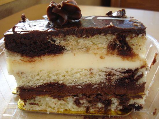 neapolitan dessert pastry | ... :-) | REVIEW: Tuxedo Truffle Napoleon and Triple Chocolate Brownie