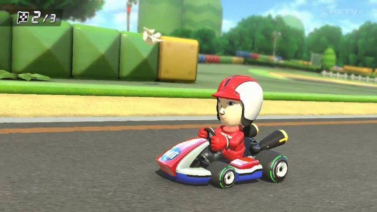 Wii U - Mario Kart 8 -  Circuit Mario time trial