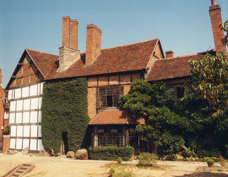 Shakespeare's Birthplace Trust. Roofed by Keymer handmade clay roof tiles.