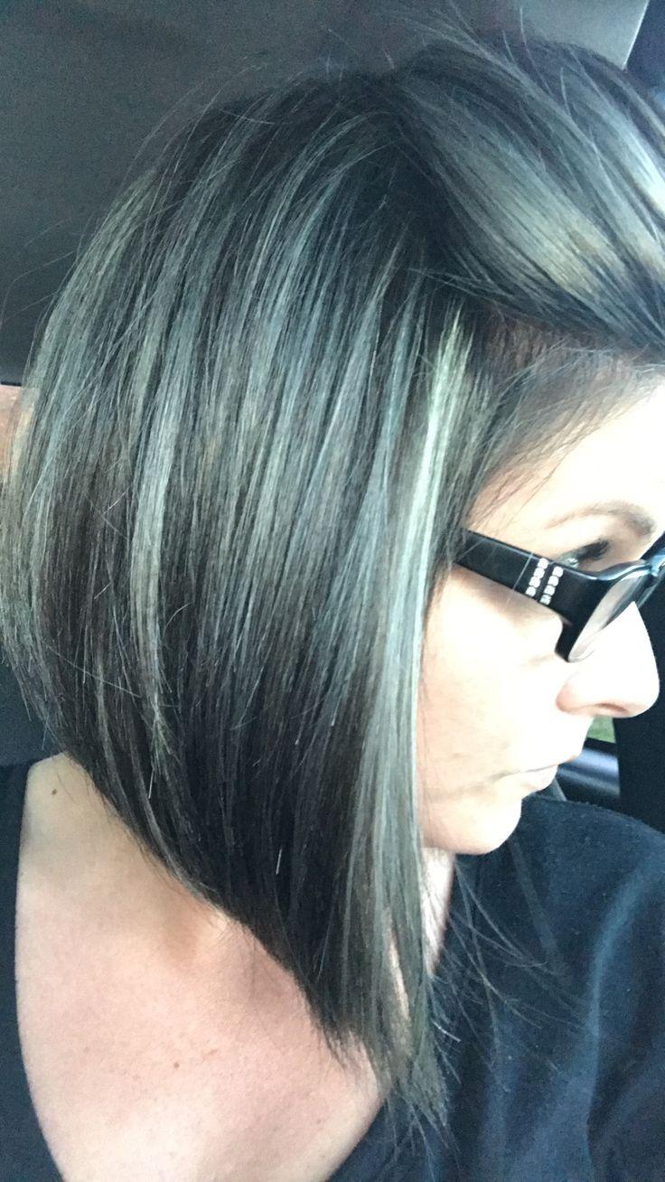 trending ash brown hair color