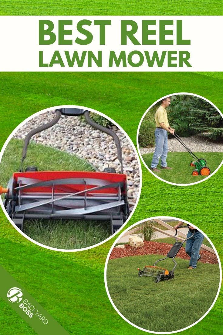 The Top Reviews Of The Best Reel Lawn Mowers Reel Lawn Mower Reel Mower Mower