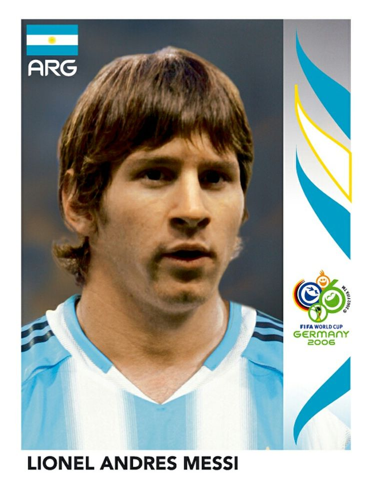 185 Lionel Andres Messi - Argentina - FIFA World Cup Germany 2006
