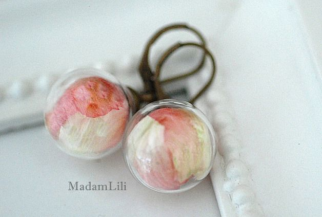 ♥ Sommer©  ♥ Ein Stück Natur Ohrringe von MADAM LILI