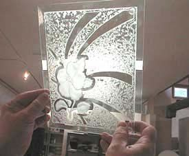 39 Best Images About Glue Chipped Glass On Pinterest