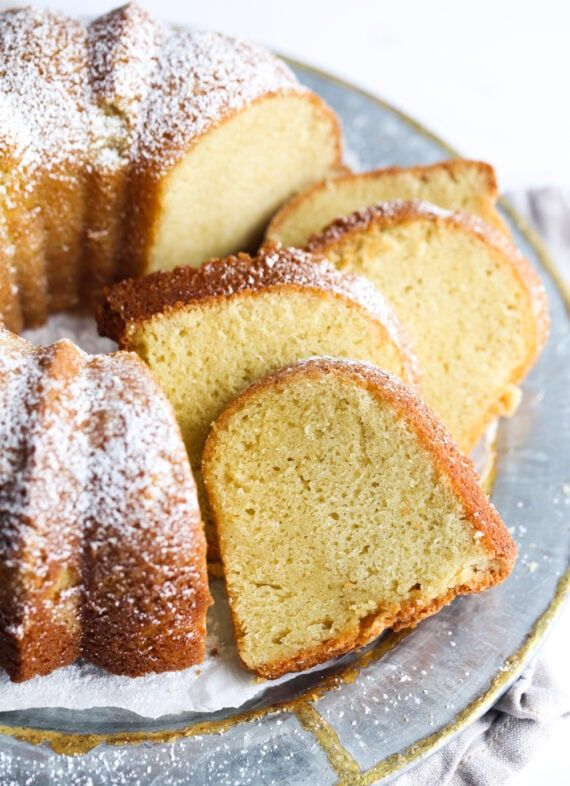 My Sour Cream Pound Cake Is Absolutely The Best Dense Moist And Flavorful T In 2020 Sour Cream Pound Cake Best Sour Cream Pound Cake Recipe Best Coffee Cake Recipe
