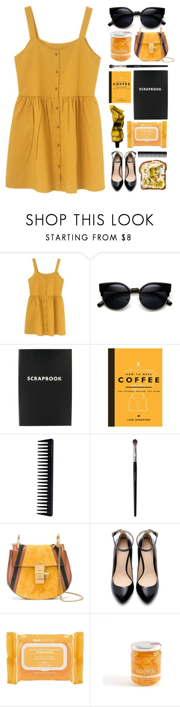 """""""Honey"""" by seriouskatya ❤ liked on Polyvore featuring ZeroUV, Dot & Bo, GHD, Sephora Collection, Chloé, Zara, Ole Henriksen and Aesop"""