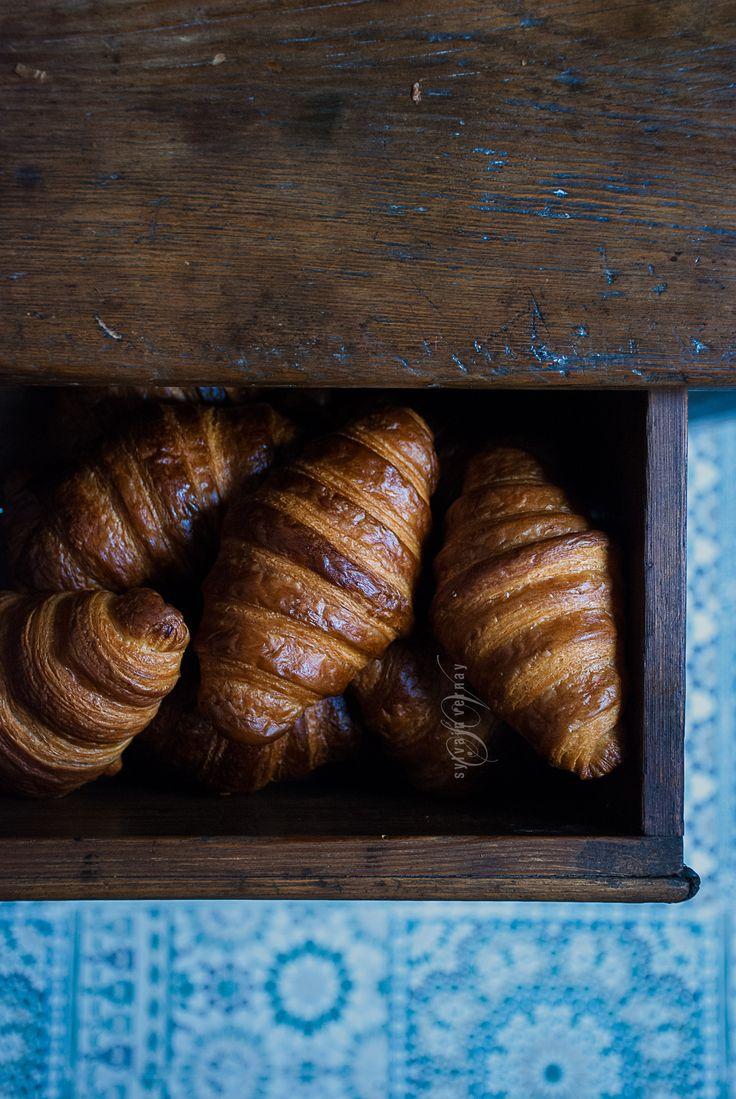 Sourdough croissants. By Sylvain Vernay.