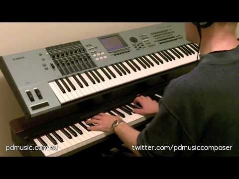 Something's Wrong (Original Solo Piano) by Paul Doolan, Music Composer, Yamaha P-155 Digital Piano
