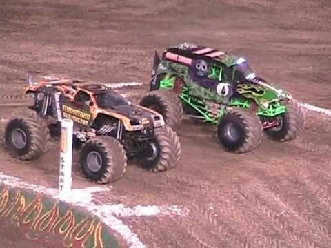 Monster Jam Racing from Anaheim