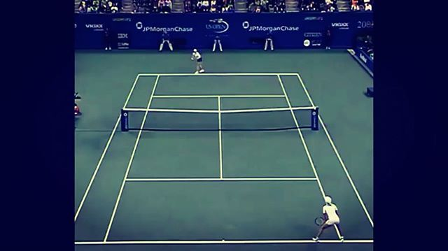 Some awesome tennis right there! Justine Henin and Kim Clijsters in the 2003 Final ⠀ #etennisleague #throubackmonday #tbm #etennisleaguenation #tennisvideo #tennispoint #tennispro #tennisplayer #tennislife