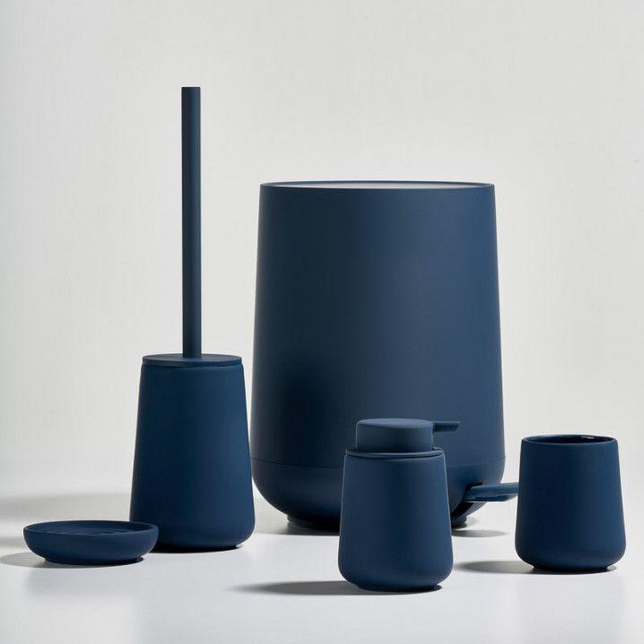 Zone Denmark Nova One Toilet Brush Royal Blue Soap Dispenser New Toilet Scandinavian Bathroom Accessories