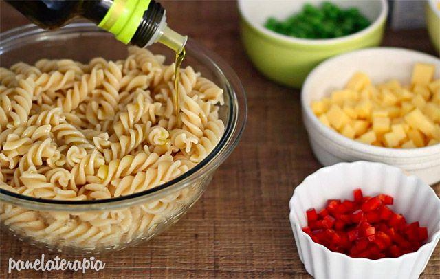 Panelaterapia   Salada de Macarrão   http://panelaterapia.com