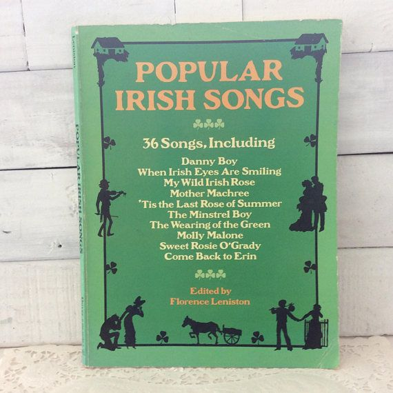 popular Irish Songs  Dover Publication  Good Old Songs