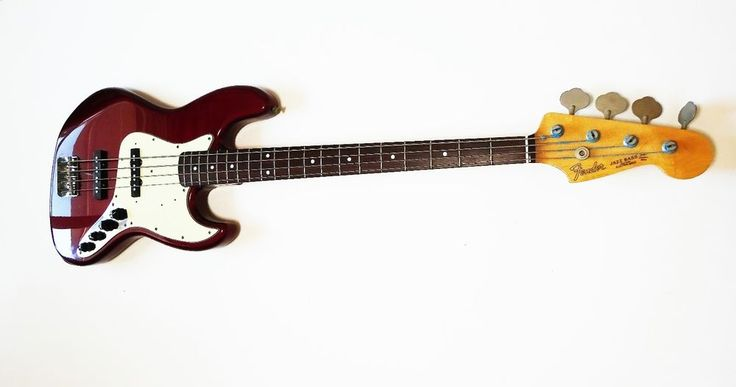 Fender Japan jb62 active, early 2000s #Fender #JazzBass