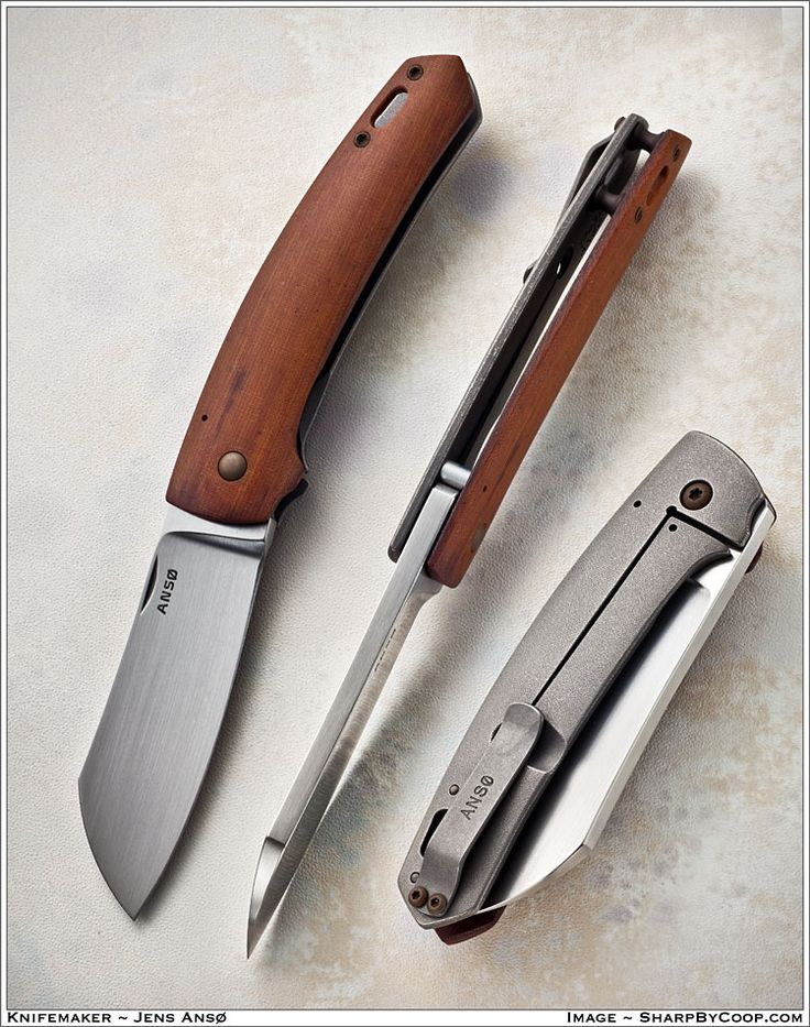 Folding knife - beautiful.