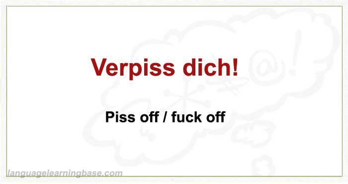 German swear words - learn German,german,vocabulary,swear