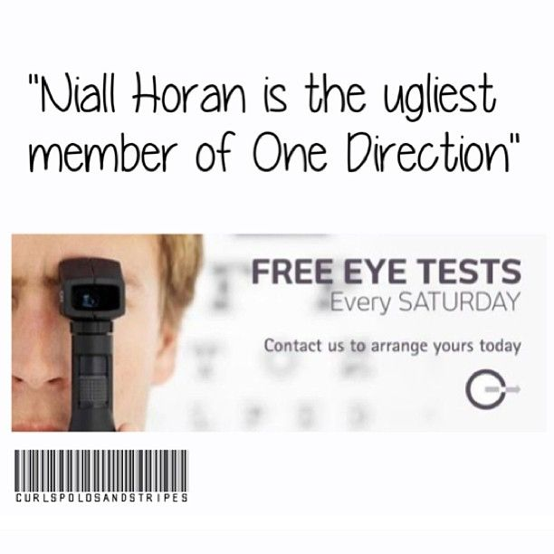 seriously you must be blind if you think this. i would consider the eye test (: