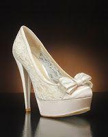Dantel Gelin Ayakkabısı Modelleri - http://www.birleydi.com/2014/07/dantel-gelin-ayakkabisi-modelleri.html